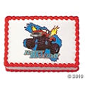 Monster Truck Edible Image For A 10 Year Olds Birthday Cake