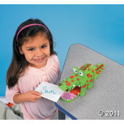 Put Your Valentine Cards In This Alligator Card Box!