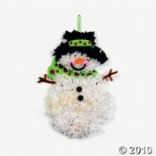 Snowman Tissue Craft Kit for Kids