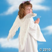 Child's Angel Costume With Wings
