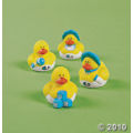 Baby Shower blue mini rubber duckies