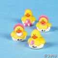 Baby Shower mini pink rubber duckies