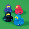Ninja Rubber Duckies Make Great Prizes For Ninja Cards