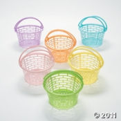 Easter Baskets for your Easter Egg Hunt