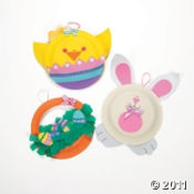 Preschool Easter Crafts for Kids  Make paper plate Easter characters