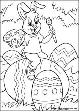 Easter Egg and Bunny Coloring Pages Are Fun For Kids!