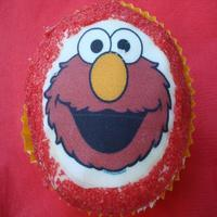 Elmo Images can go on cakes and cupcakes