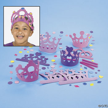Foam Princess Party Craft Kits  Make A Crown