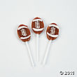 Football Lollipops are perfect party favor ideas for a football or Super Bowl party!