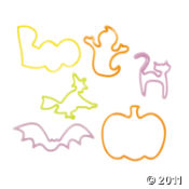 These are just fun for kids!  Perfect for Halloween Trick or Treat Gifts!
