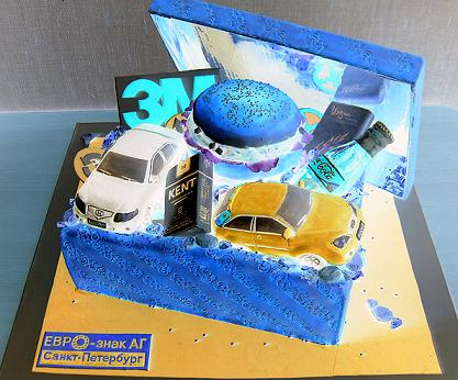 An Interesting Cake Design.  Get some birthday cake design ideas from our Amazing Cake pictures.
