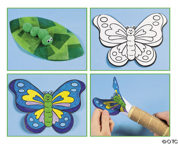 Craft Ideas Videos on Kids Science Party Arts And Craft Ideas Butterfly Craft Ideas