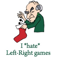 image about Christmas Left Right Game Printable identified as Remaining Directly Xmas Printable Bash Online games