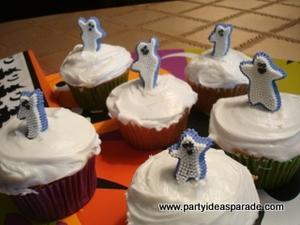Ghost Sugar Decorations For Halloween