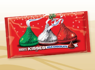 Here are the candy Kisses you need from Hershey!