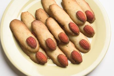 Halloween Finger Cookie - Kids Halloween Party Food