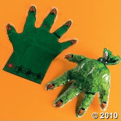 Monster Hand Halloween Candy Bag