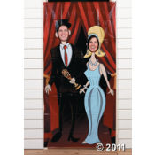 Get a Movie Night Photo Door Banner to take fun party pictures of all  your guests!