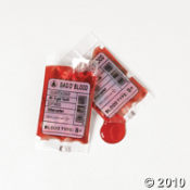 Novelty Halloween Candy Blood Bags
