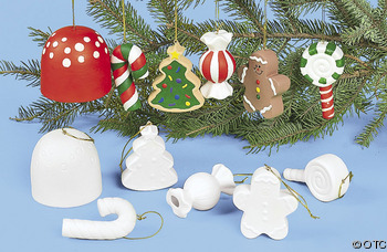 paint kids Christmas Ornament Kit