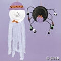 Get A Paper Plate Ghost and Spider Craft Kit For Kids at Halloween!