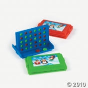 Penguin Connect the Disks Game For Kids Party Fun