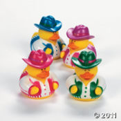 Get Your Pink Rubber Duckies For Those Cowgirls