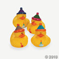 Rubber Duckie Happy Birthday party favor ideas