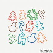 Silly Fun Christmas Shaped Bandz That Kids Love