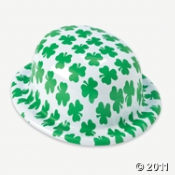 Lucky Shamrocks Derby Hats for your St Patrick's Day party.
