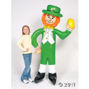 St Patrick's Day Inflatable Leprechauns make a fun prize for your Irish party games.