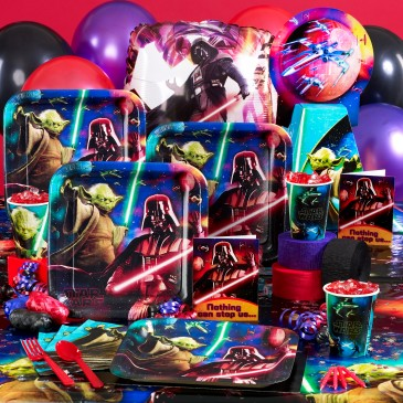 Star Wars 3-D Party Supplies  Feel The Force