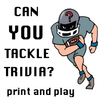 Super Bowl Trivia Questions and Answers for the football fans at your party!