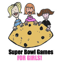 Super Bowl Games for the ladies at your Super Bowl Party!