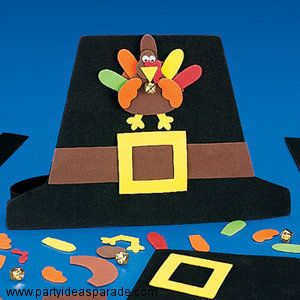 Thanksgiving Pilgrims Hat Craft Ideas For Kids