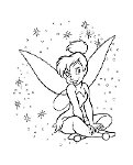 My Favorite!  Coloring Pages Tinkerbell...I love Tink!