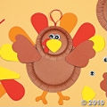 Paper Plate Turkey Craft For Kids. It's a fun kids craft kit!