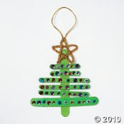 Wooden Christmas Tree Ornament Kit is on sale.  It's a cute and easy Christmas craft kits for kids.
