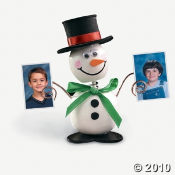 Wooden Snowman Christmas Craft Kits For Kids