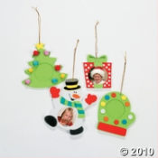 Wooden Snowman Christmas Craft Kit For Kids Is Fun and Easy to Make