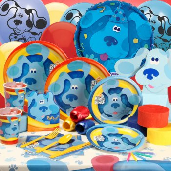 Blue's Clues Birthday Party Supplies
