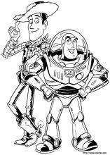 Buzz Lightyear and Woody Coloring Pages From Toy Story Are Perfect For A Kids Toy Story Party!