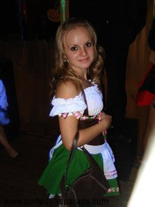 Christina's Halloween Costume - Gretchen the German Girl