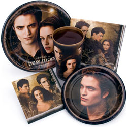 New Moon Party Supplies...and coming soon are the new Eclipse party supplies!