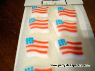 Flag Sugar Decorations