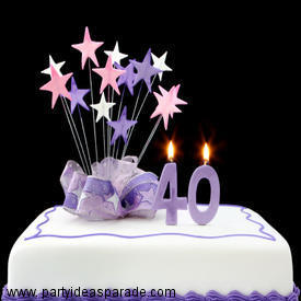 Look at this Fondant 40th Birthday Cake.  Learn how to make fondant and look at the cakes you will be able to make.  Just click on the 40th birthday cake to see more pictures.