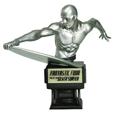 Marvel Super Hero Silver Surfer With Super Party Games and Super Hero Party Supplies For A Kids Birthday Party