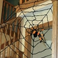 Spider Web Halloween Decorations are perfect for the Spiders Web Game
