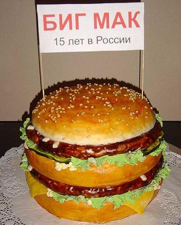 A Hamburger Cake is a great BBQ or Fourth of July Cake Idea