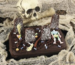 A Halloween Cake You Can Use For A Fear Factor Party